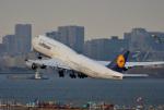 mojioさんが、羽田空港で撮影したルフトハンザドイツ航空 747-830の航空フォト(飛行機 写真・画像)