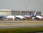 まいけるさんが、ドンムアン空港で撮影したタイ国際航空 A330-321の航空フォト(写真)