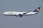 SKYLINEさんが、羽田空港で撮影したルフトハンザドイツ航空 747-830の航空フォト(写真)