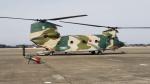 多楽さんが、茨城空港で撮影した航空自衛隊 CH-47J/LRの航空フォト(写真)