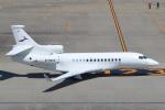 セブンさんが、羽田空港で撮影した金鹿航空 Falcon 7Xの航空フォト(飛行機 写真・画像)