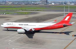 セブンさんが、羽田空港で撮影した上海航空 A330-343Xの航空フォト(写真)