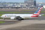 セブンさんが、羽田空港で撮影したアメリカン航空 777-223/ERの航空フォト(飛行機 写真・画像)