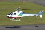 セブンさんが、札幌飛行場で撮影した北海道航空 AS350B2 Ecureuilの航空フォト(飛行機 写真・画像)