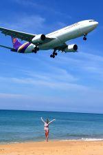 まいけるさんが、プーケット国際空港で撮影したタイ国際航空 A330-343Xの航空フォト(写真)
