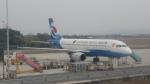 KLIAX24Rさんが、広州白雲国際空港で撮影した重慶航空 A319-115の航空フォト(写真)