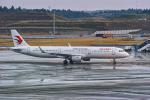 delawakaさんが、成田国際空港で撮影した中国東方航空 A321-211の航空フォト(写真)