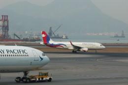 トールさんが、香港国際空港で撮影したネパール航空 A320-233の航空フォト(飛行機 写真・画像)