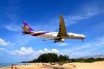まいけるさんが、プーケット国際空港で撮影したタイ国際航空 777-3D7/ERの航空フォト(写真)