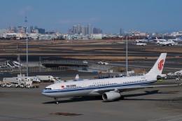らむえあたーびんさんが、羽田空港で撮影した中国国際航空 A330-343Xの航空フォト(飛行機 写真・画像)