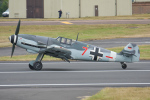 Tomo-Papaさんが、フェアフォード空軍基地で撮影したドイツ企業所有 Bf 109G-2の航空フォト(写真)