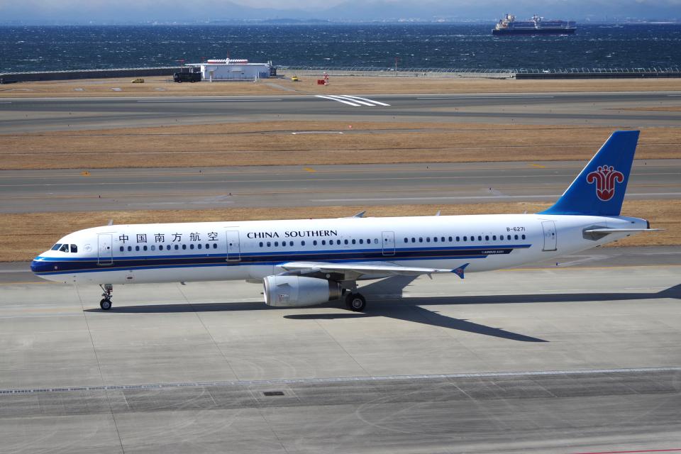 yabyanさんの中国南方航空 Airbus A321 (B-6271) 航空フォト