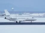 noshi2さんが、新千歳空港で撮影した不明 Falcon 900の航空フォト(写真)