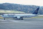 プルシアンブルーさんが、青森空港で撮影したスカイマーク 767-36N/ERの航空フォト(写真)