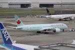 OMAさんが、羽田空港で撮影したエア・カナダ 787-9の航空フォト(飛行機 写真・画像)