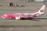 Wings Flapさんが、中部国際空港で撮影した日本トランスオーシャン航空 737-8Q3の航空フォト(写真)