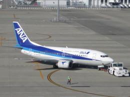 くまのんさんが、中部国際空港で撮影したANAウイングス 737-5L9の航空フォト(飛行機 写真・画像)