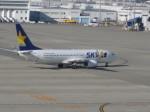 くまのんさんが、中部国際空港で撮影したスカイマーク 737-8HXの航空フォト(飛行機 写真・画像)