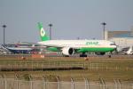 OMAさんが、成田国際空港で撮影したエバー航空 777-35E/ERの航空フォト(飛行機 写真・画像)