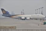 masa707さんが、香港国際空港で撮影したUPS航空 747-8Fの航空フォト(写真)