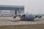 masa707さんが、香港国際空港で撮影したカタール空軍 C-17A Globemaster IIIの航空フォト(写真)
