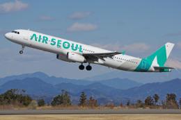 静岡空港 - Shizuoka Airport [FSZ/RJNS]で撮影されたエアソウル - Air Seoul [RS/ASV]の航空機写真