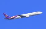 気分屋さんが、羽田空港で撮影したタイ国際航空 777-3D7の航空フォト(飛行機 写真・画像)