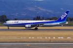 PASSENGERさんが、鹿児島空港で撮影した全日空 767-381/ERの航空フォト(写真)