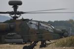 はっし~さんが、築城基地で撮影した陸上自衛隊 AH-64Dの航空フォト(写真)