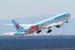 SKYLINEさんが、中部国際空港で撮影した大韓航空 777-3B5/ERの航空フォト(飛行機 写真・画像)