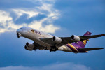 we love kixさんが、関西国際空港で撮影したタイ国際航空 A380-841の航空フォト(写真)