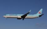 だいまる。さんが、岡山空港で撮影した大韓航空 737-9B5/ER の航空フォト(写真)