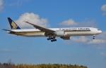 IL-18さんが、成田国際空港で撮影したシンガポール航空 777-312/ERの航空フォト(写真)