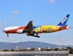 nagareboshiさんが、伊丹空港で撮影した全日空 777-281/ERの航空フォト(写真)