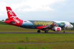 Gujirinkaさんが、フランシスコ・バンゴイ国際空港で撮影したエアアジア A320-216の航空フォト(写真)