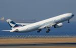 せせらぎさんが、中部国際空港で撮影したキャセイパシフィック航空 A330-343Xの航空フォト(写真)