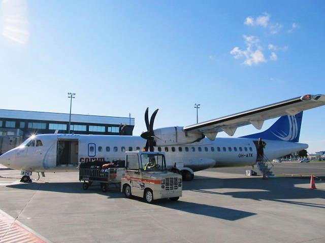 フィンコム航空 ATR 72 OH-ATK ...