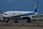 いんちょーさんが、松山空港で撮影した全日空 777-381の航空フォト(写真)