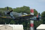 Tomo-Papaさんが、フェアフォード空軍基地で撮影したイギリス企業所有 361 Spitfire LF16Eの航空フォト(写真)