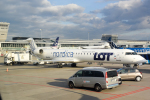 panchiさんが、ワルシャワ・フレデリック・ショパン空港で撮影したノルディカ CL-600-2D24 Regional Jet CRJ-900ERの航空フォト(写真)