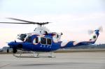 チャーリーマイクさんが、新田原基地で撮影した宮崎県防災救急航空隊 412EPの航空フォト(写真)