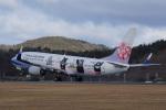 神宮寺ももさんが、広島空港で撮影したチャイナエアライン 737-8FHの航空フォト(写真)
