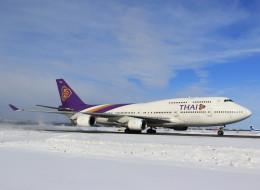 VIPERさんが、新千歳空港で撮影したタイ国際航空 747-4D7の航空フォト(写真)
