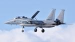 ららぞうさんが、千歳基地で撮影した航空自衛隊 F-15DJ Eagleの航空フォト(写真)