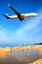 まいけるさんが、プーケット国際空港で撮影したシルクエア 737-8SAの航空フォト(写真)