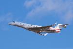 yabyanさんが、名古屋飛行場で撮影したプライベートエア Gulfstream G650ER (G-VI)の航空フォト(写真)
