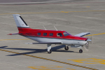 yabyanさんが、名古屋飛行場で撮影した日本法人所有 PA-46-350P Malibu Mirageの航空フォト(飛行機 写真・画像)