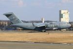 マリオ先輩さんが、横田基地で撮影したアメリカ空軍 C-17A Globemaster IIIの航空フォト(写真)
