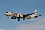 妄想竹さんが、仙台空港で撮影したジェイ・エア ERJ-190-100(ERJ-190STD)の航空フォト(写真)