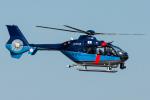Tomo-Papaさんが、入間飛行場で撮影した埼玉県警察 EC135P2+の航空フォト(写真)